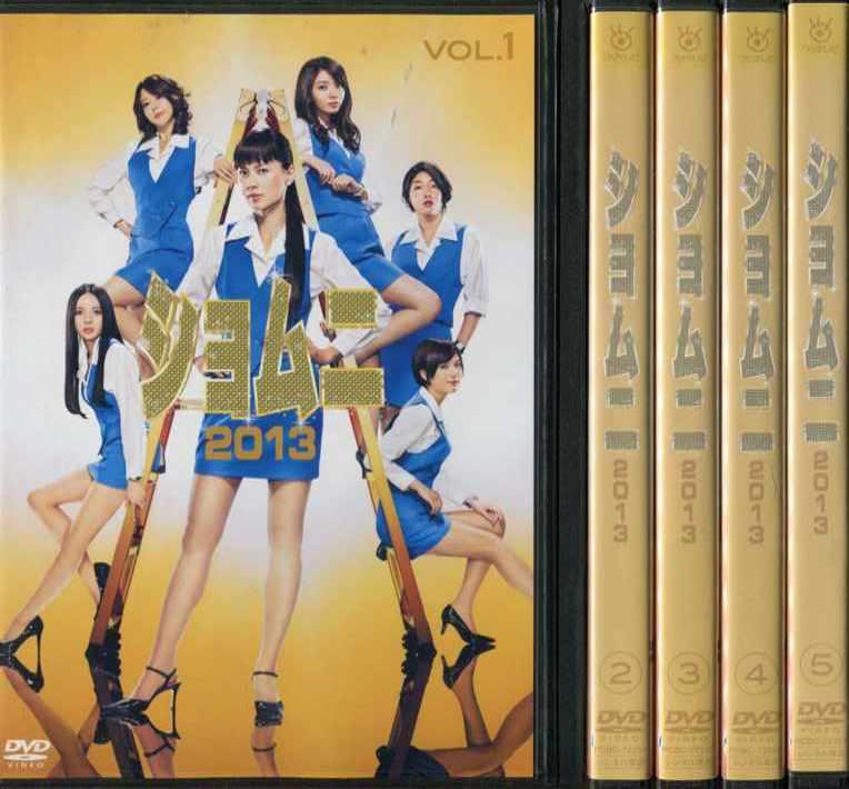ショムニ 2013 1~5 (全5枚)(全巻セットDVD)|中古DVD