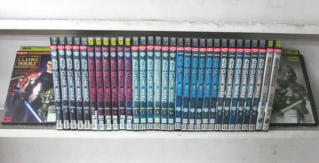 スター・ウォーズ クローン・ウォーズ 1、2、3、4、5、FINAL (全33枚)(全巻セットDVD)|中古DVD【中古】【5/1 0時から 5/21 10時まで★ポイント10倍★☆期間限定】