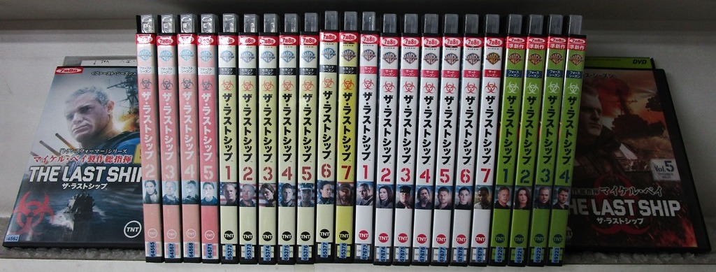 驚きの値段で ザ・ラストシップ 1st-4th シーズン(未完) (24枚セットDVD)|DVD, 松末フラワーガーデン 10520151