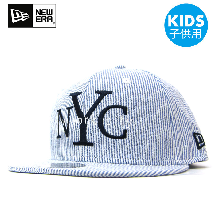 新埃拉NEW ERA小孩蓋子Youth 9FIFTY shiasakka NYC藍色