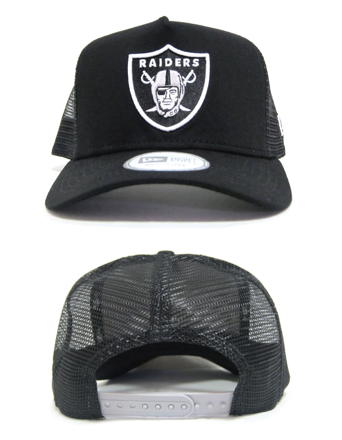 新时代帽攻略新时代 D-帧卡车网格帽盾牌标志奥克兰突袭者队新时代舞蹈服装帽子儿童巴黎世家中性 UV 措施 UV 切 02P05Sep15