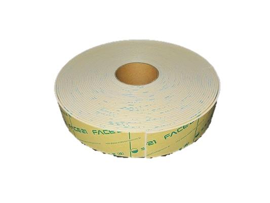 バームテープ(白or黒)東レペフシート粘着付 3mm厚*75mm巾*20m【6個セット】