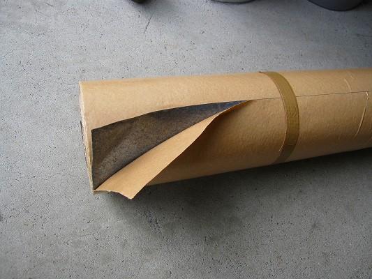 鉛シート(粘着剤付) 0.3mm厚*460mm巾*10m (16kg)◆オンシャット(三井金属)orソフトカーム(東邦亜鉛)デッドニング・放射線防護【送料無料】【代引不可】