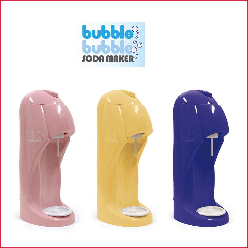 Entrex bubblebubble (爆破泡泡苏打水) 身体套装 (苏打水制造机) * 身体、 缸、 1 升瓶 (颜色: 粉红色 0、 象牙 1、 海军 2) 12735