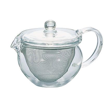 おいしさが見える 緑茶 紅茶 ハーブティーなどお好みで ハリオ HARIO 300ml 丸 CHJMN-30T 注文後の変更キャンセル返品 茶茶急須 お得クーポン発行中