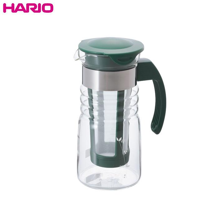 水だけで抽出する水出し茶を作ろう 人気上昇中 ハリオ HARIO 実用容量700ml かご網付き水出し茶ポット ミニ ショップ