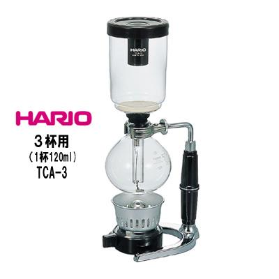 ハリオ HARIO コーヒーサイフォンテクニカ 3杯用 TCA-3