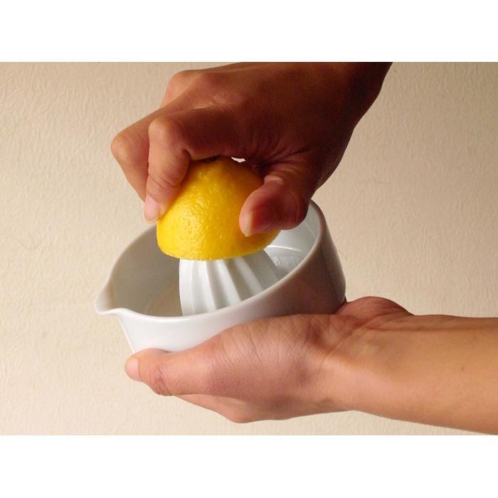 KIHARA (Kihara) SITAKU lemon squeezer Arita ware diameter 10* 5.7cm in height