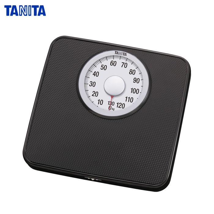TANITA (TANITA) Analog Bathroom Scales Color: Black