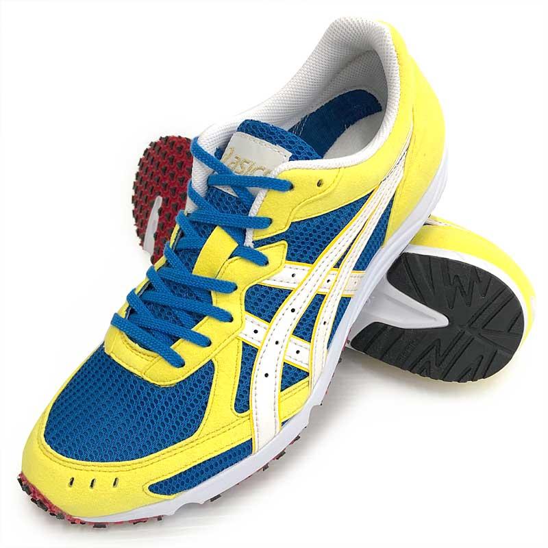 アップルスポーツ マラソンシューズ アシックス ソーティセイハSP asics SORTIE SEIHA SP [TMMSEIHA-01:ブルー/イエロー] 足型:スタンダード tmmori(tmmseiha01)