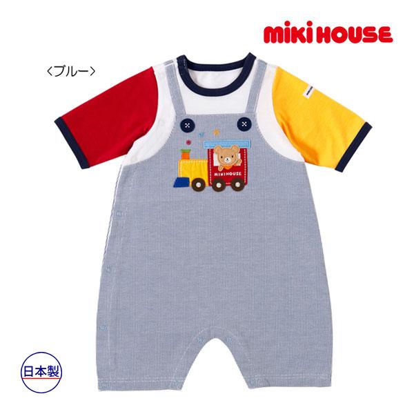 (海外販売専用)ミキハウス mikihouse 汽車ポッポ♪プレオール(50cm-60cm)