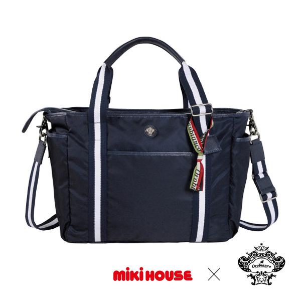 ミキハウス【MIKI HOUSE】(ベビー)Orobianco×ミキハウス☆コラボマザーバッグ