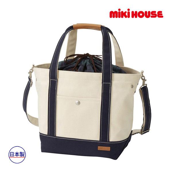 ミキハウス【MIKI HOUSE】(ベビー)キャンバストートバッグ