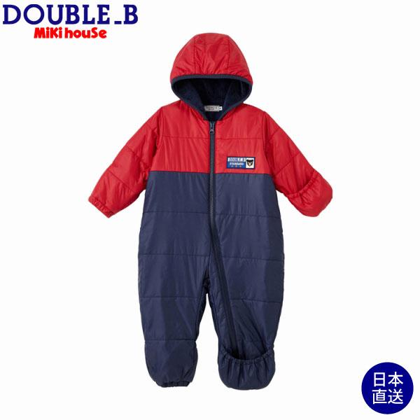 (海外販売専用)ダブルB【DOUBLE B】高機能中綿ジャンプスーツ〈S-M(70-90cm)〉