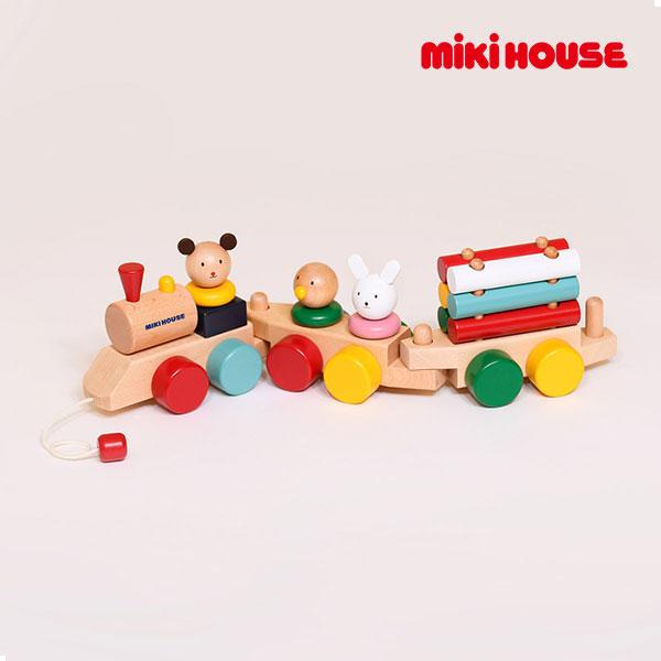 (海外販売専用)ミキハウス mikihouse プルトーイ【箱入】