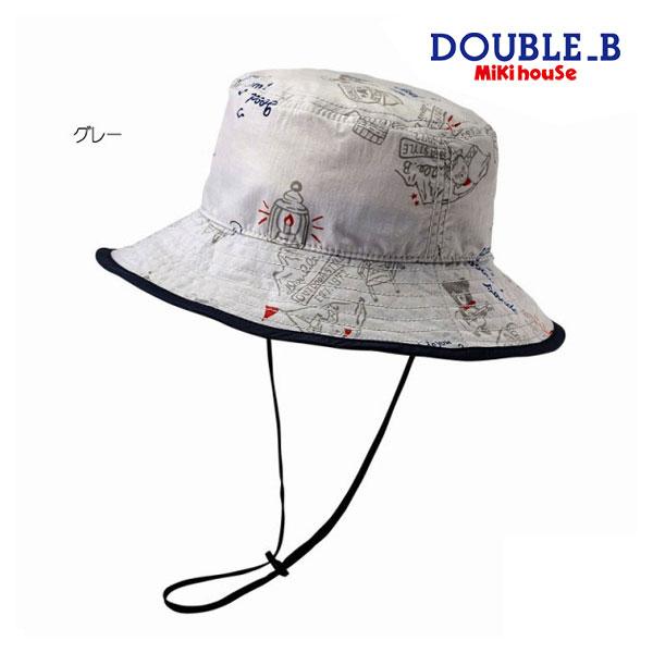 ミキハウス正規販売店/ミキハウス ダブルビー mikihouse 帽子(S-LL(48-56cm))