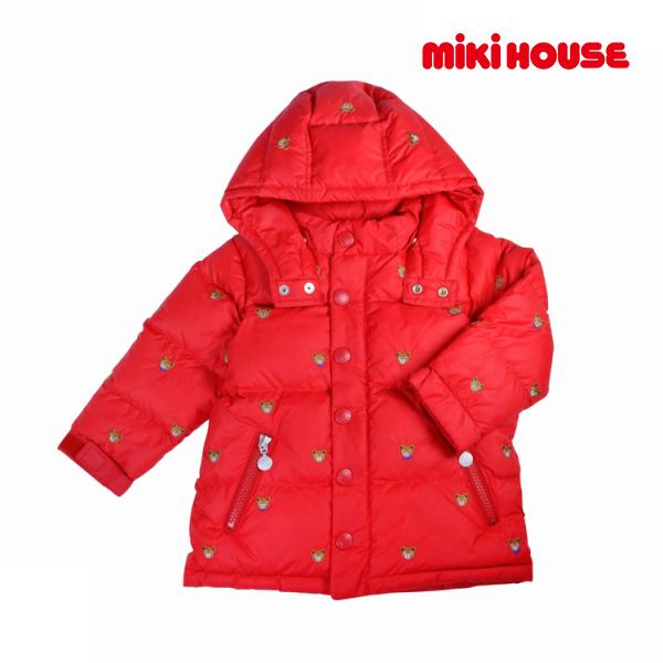 ミキハウス正規販売店/ミキハウス mikihouse プチプッチー ダウンコート(80cm・90cm・100cm)