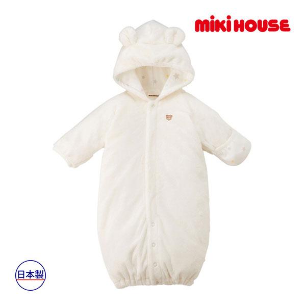 (海外販売専用)ミキハウス mikihouse ツーウェイオール(50cm-70cm)