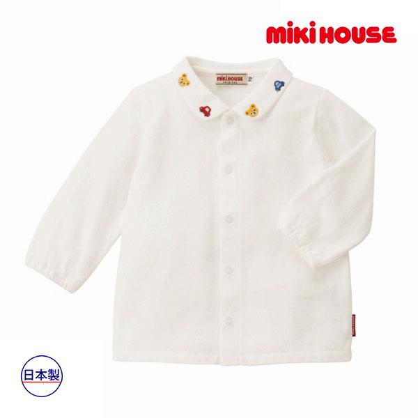 (海外販売専用)ミキハウス正規販売店/ミキハウス mikihouse ブラウス(110cm)