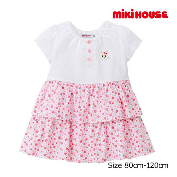 (海外販売専用)ミキハウス正規販売店/ミキハウス mikihouse ワンピース(80cm・90cm・100cm)