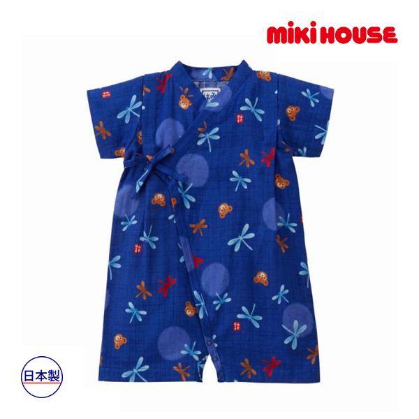 ミキハウス正規販売店/ミキハウス mikihouse 甚平オール(S・M(60cm~80cm))