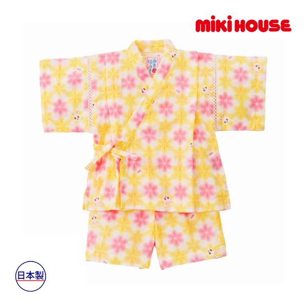 (海外販売専用)ミキハウス mikihouse 甚平スーツ(80cm・90cm・100cm)