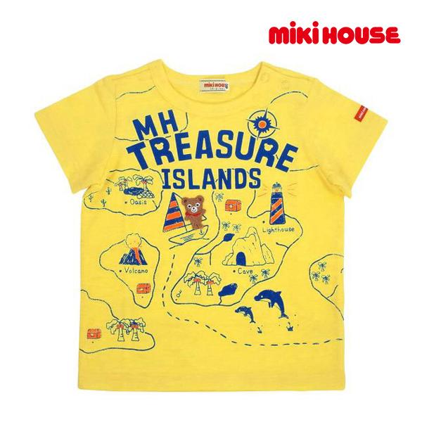 30%OFFセール メール便対応可 ミキハウス正規販売店 ミキハウス 買取 公式ストア mikihouse 80cm 半袖Tシャツ