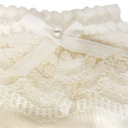 Baby socks (7cm - 13cm) of the race that Miki house (baby) is luxurious