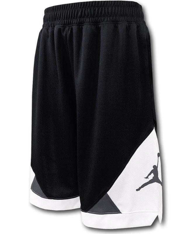 SK419 直送商品 ジュニア バーゲンセール ジョーダン バスケットボールショーツ Jordan Shorts キッズ バスパン 黒白ダークグレー ドライフィット
