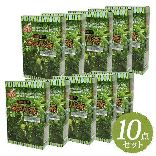 【送料無料【送料無料】OSK】OSK グァバ茶 グァバ茶 160g(5g×32袋)まとめ買い10点セット【小谷穀粉】, エクサ:7538cae3 --- officewill.xsrv.jp