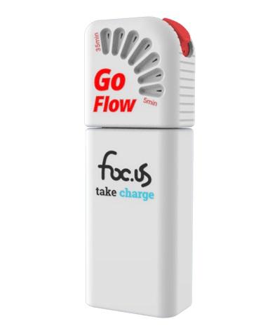 最新型●foc.us Go Flow 4 ゲーマーの集中力強化用デバイス&ヘッドバンド・セット「4.0mA tDCS=経頭蓋直流微弱電流刺激」専用 ※日本語の取扱説明書付