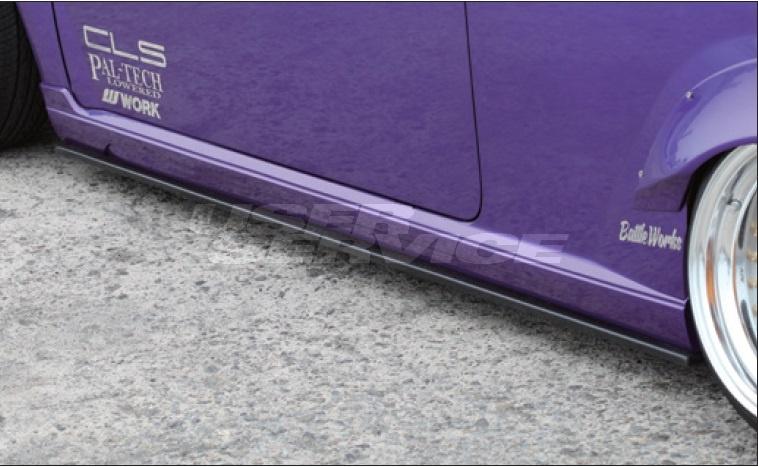 ESB ミラ L250系 サイドアンダーフラップ RACING MODIFY レーシングモデファイシリーズ イーエスビー