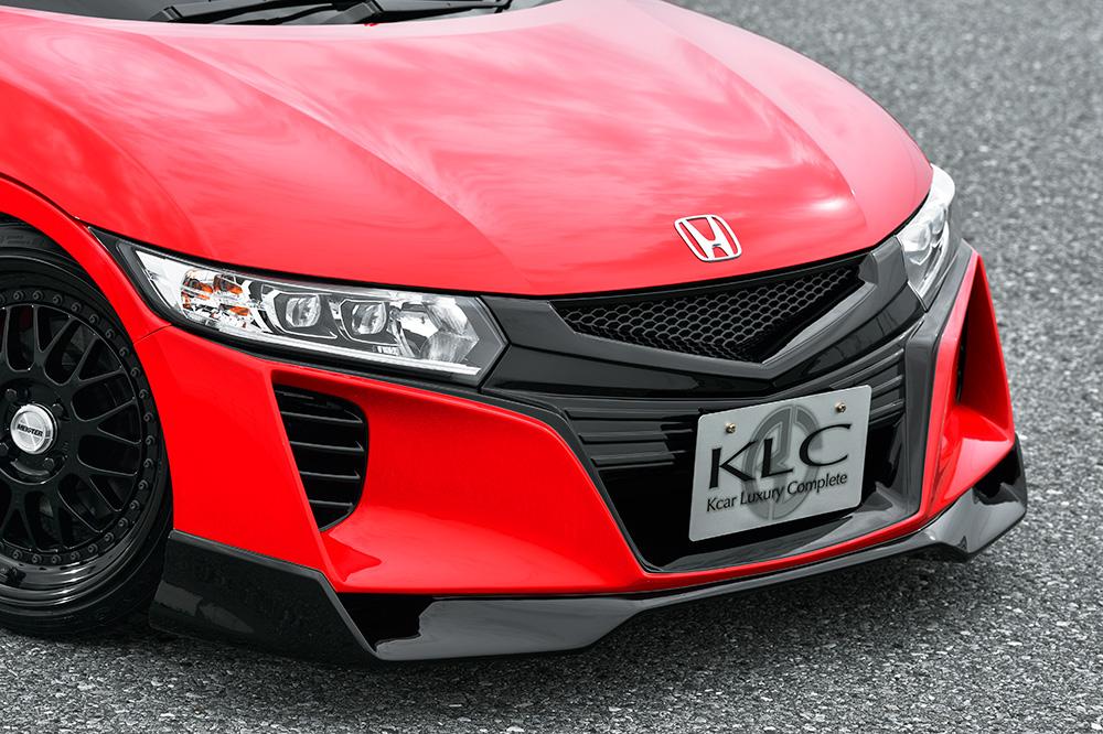 KLC S660 JW5 フロントバンパー Premium GT プレミアムGT ケイエルシー 個人宅発送不可