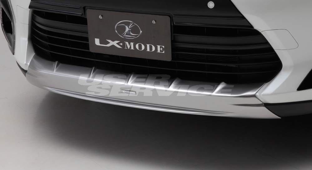 LXモード ハリアーハイブリッド  LXフロントアンダーガーニッシュ LX-MODE 配送先条件有り