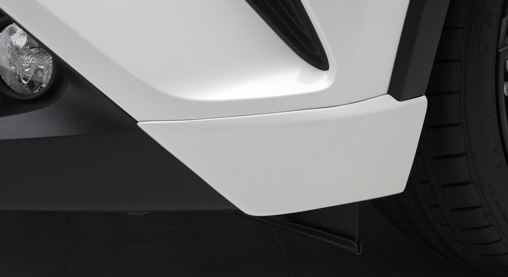 LXモード C-HR ZYX10/NGX50 LXカラード フロントサイドスパッツ 塗装済 LX-MODE 配送先条件有り