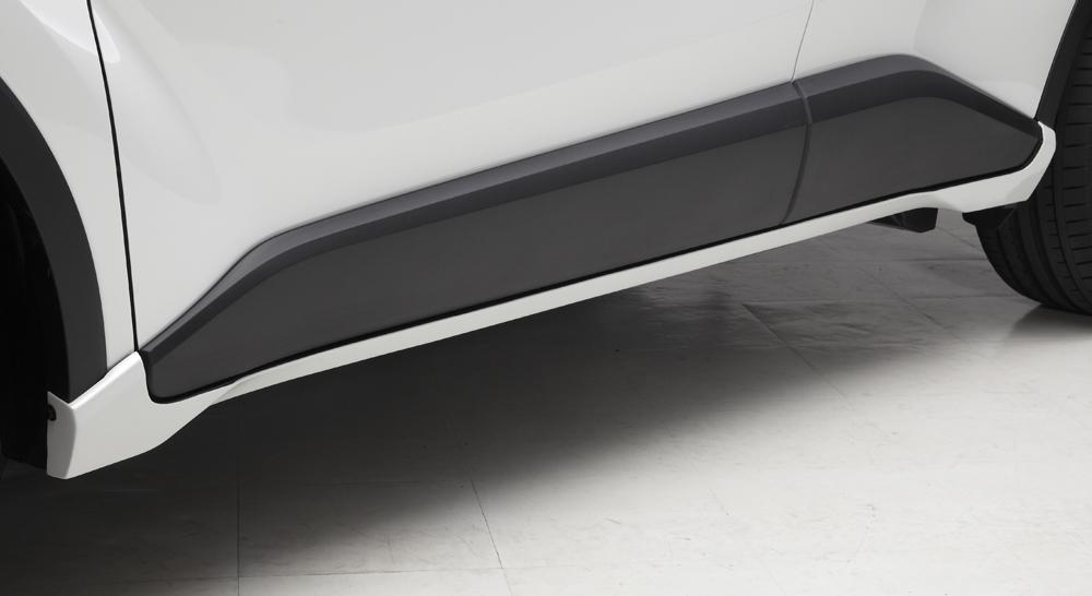 LXモード C-HR ZYX10/NGX50 サイドマッドガード 未塗装 LX-MODE