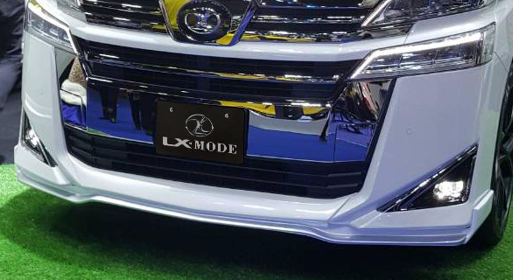 LXモード ヴェルファイア ヴェルファイアハイブリッド 30系 AGH30/35 GGH30/35 AYH30 後期 LXカラード フロントスポイラー 標準バンパー用 未塗装 LX-MODE 配送先条件有り