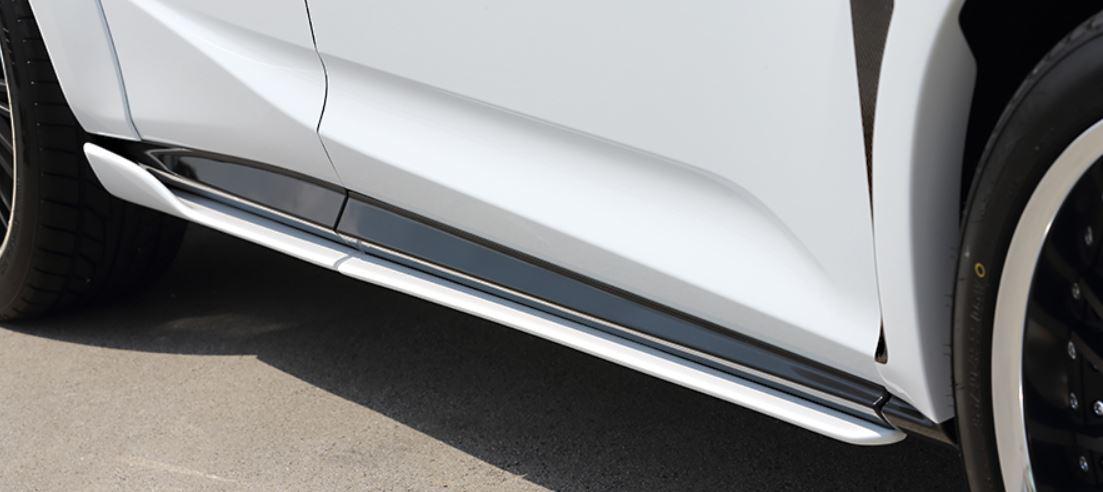 ARTISAN SPIRITS レクサス RX 300 200t 450h 350 標準 AGL20W GYL20W 20系 前期 サイドアンダースポイラー 4P スポーツラインブラックレーベル アーティシャンスピリッツ 配送先条件有り