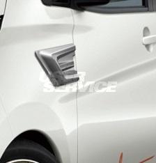 IMPUL インパル デイズ B21W 後期 ハイウェスター スポーツダクト ABS製 未塗装