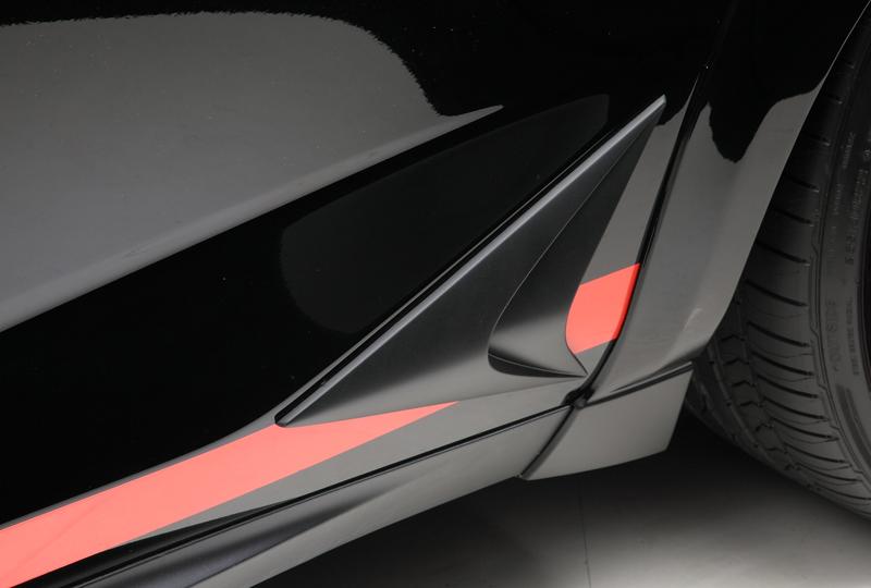 WALD ヴァルド レクサス AYZ/AGZ 10/15 NX アローヘッドパネル 未塗装 SPORTS LINE BLACK BISON EDITION ブラックバイソン エディション