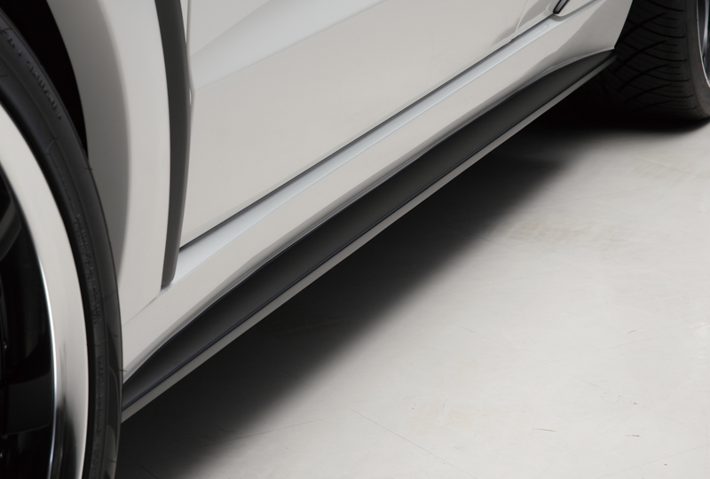 WALD ヴァルド メルセデスベンツ W166 Mクラス サイドステップ 未塗装 SPORTS LINE BLACK BISON EDITION ブラックバイソン エディション