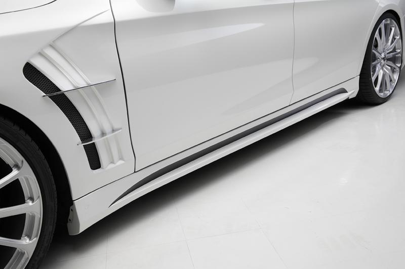 WALD ヴァルド メルセデスベンツ W222 Sクラス サイドステップ 未塗装 SPORTS LINE BLACK BISON EDITION ブラックバイソン エディション