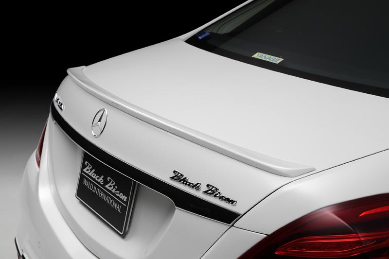 WALD ヴァルド メルセデスベンツ W222 Sクラス カーボンピラーパネル SPORTS LINE BLACK BISON EDITION ブラックバイソン エディション