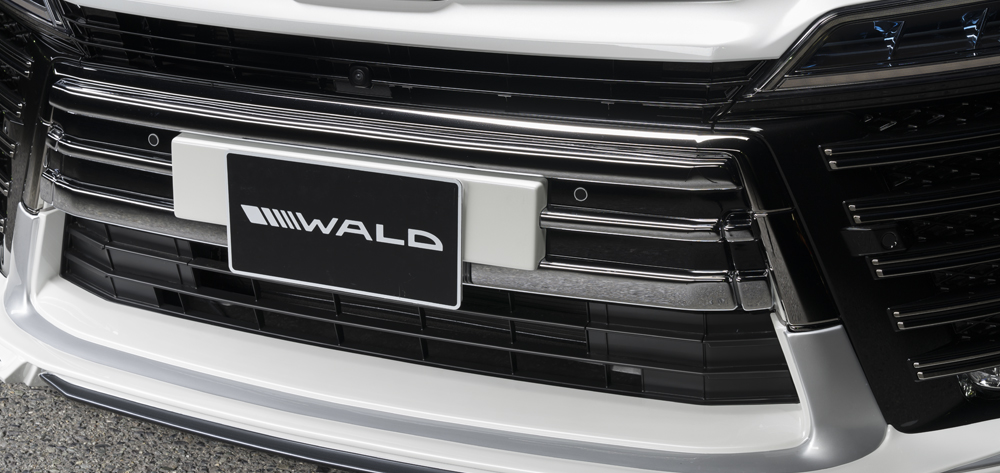 WALD ヴァルド ヴェルファイア AYH30W AGH GGH30系 Z ZG ZR クロームアンダーカバー 未塗装 EXECUTIVE LINE エグゼクティブライン