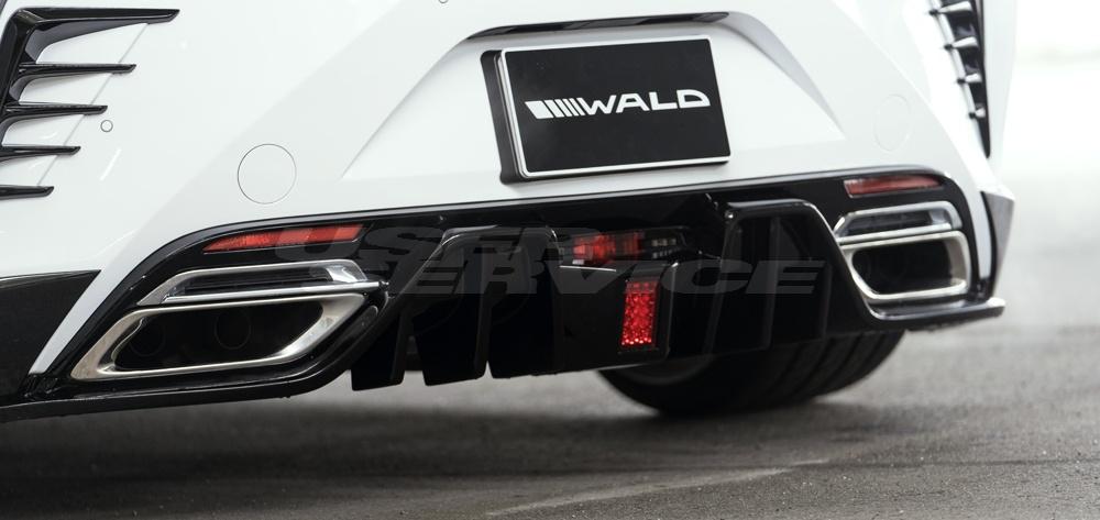 WALD ヴァルド レクサス LC500h/500 リアダクトカバー 未塗装 SPORTS LINE スポーツライン