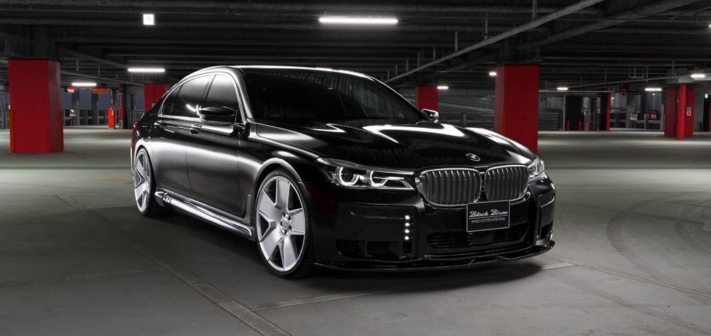 WALD ヴァルド BMW G12 7シリーズ 3Pキット 未塗装 SPORTS LINE BLACK BISON EDITION スポーツラインブラックエディション