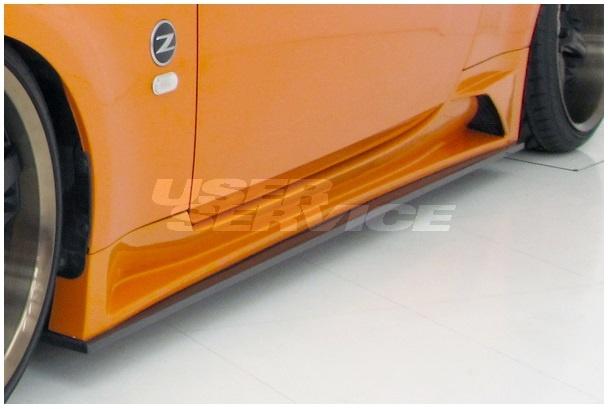 ウェーバースポーツ フェアレディZ Z33 サイドステップ FRP WEBER SPORTS ZENITH LINE MODEL ゼニスライン
