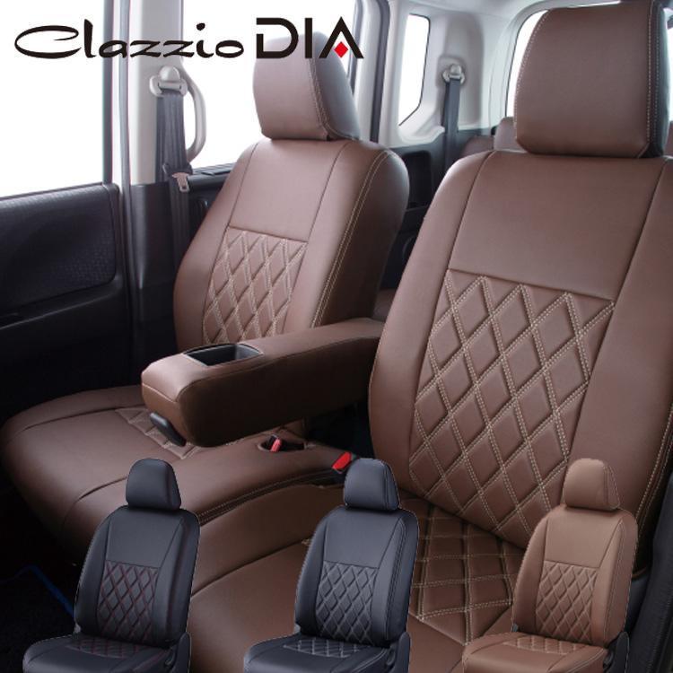 ハイエース ワゴン シートカバー TRH214W 一台分 クラッツィオ 品番ET-0105 クラッツィオ ダイヤ DIA 内装