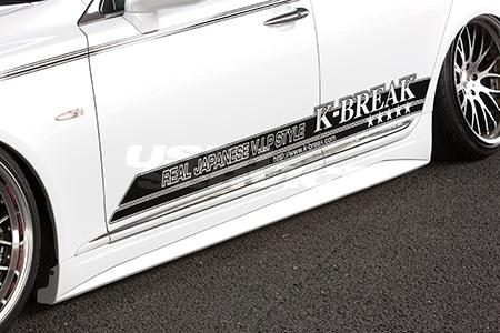 K BREAK ケイブレイク レクサス 前期 LS460 サイドステップ コンプリート零式 COMPLETE零式