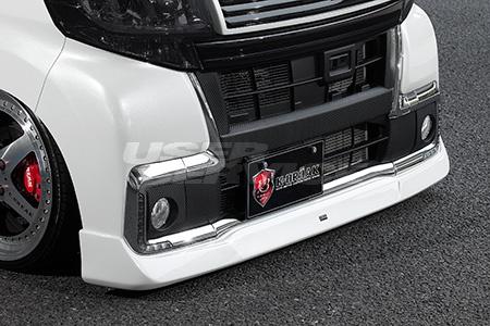 K-BREAK ケイブレイク タントカスタム LA600 後期 RS X トップエディションSA フロントハーフスポイラー アスリートS ATHLETE+S